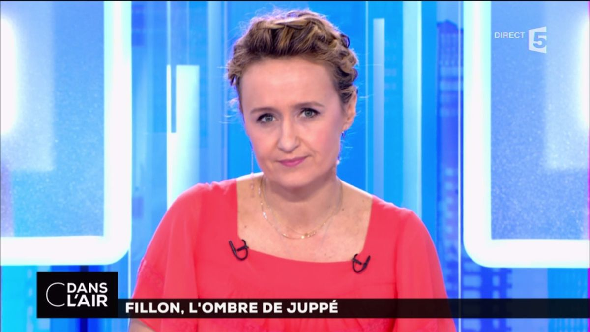 Caroline Roux C Dans l'Air France 5 le 02.03.2017