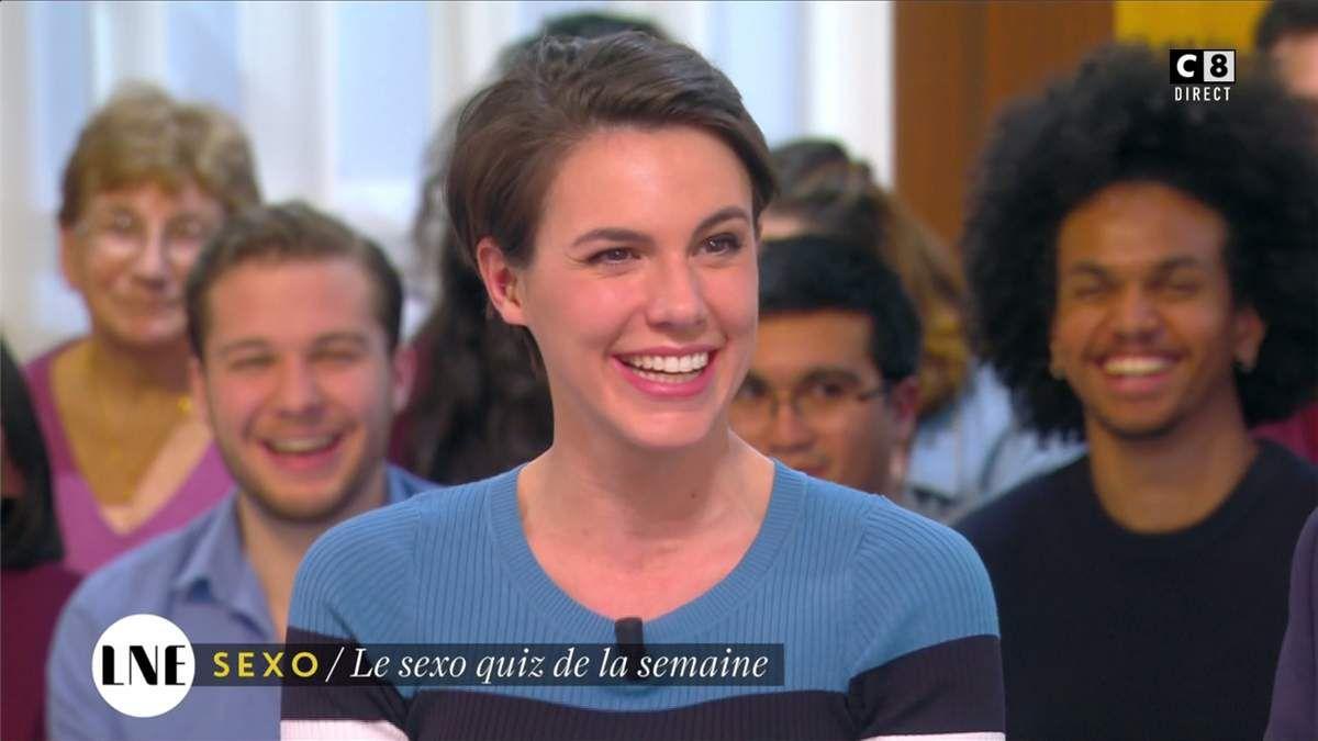 Emilie Besse La Nouvelle Edition C8 le 03.03.2017