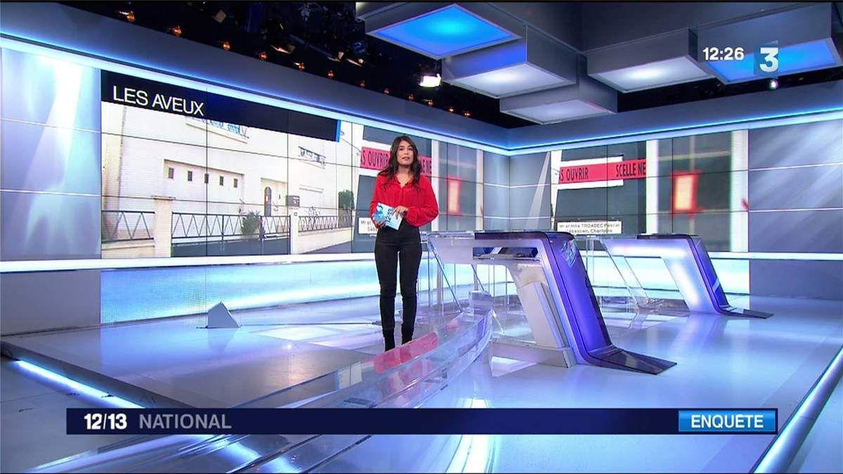 Emilie Tran Nguyen Le 12/13 France 3 le 06.03.2017