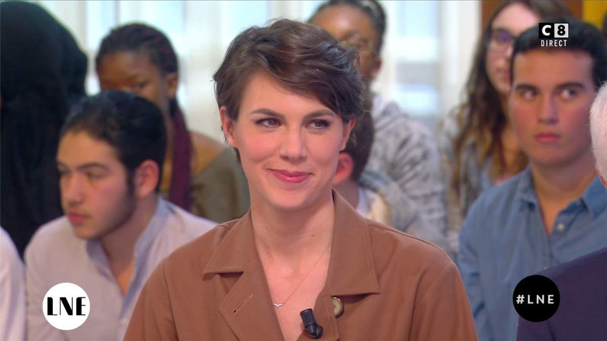 Emilie Besse La Nouvelle Edition C8 le 07.03.2017