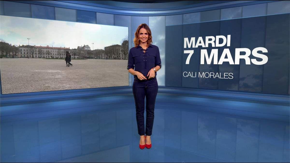 Cali Morales Météo M6 le 07.03.2017