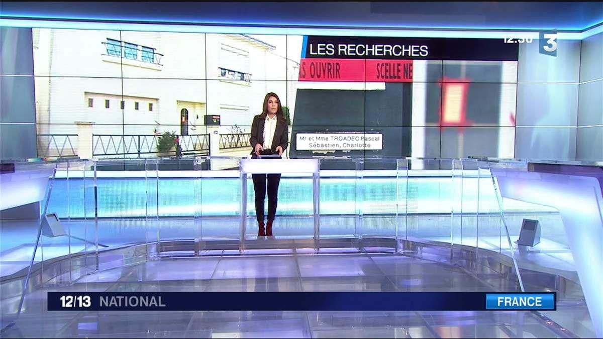 Emilie Tran Nguyen Le 12/13 France 3 le 07.03.2017