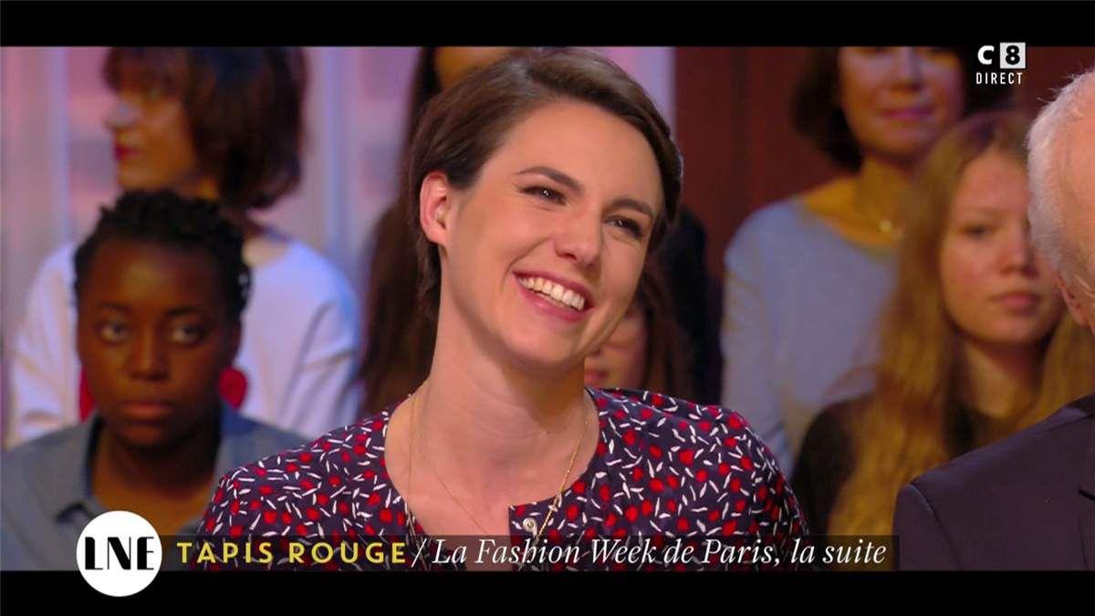 Emilie Besse La Nouvelle Edition C8 le 08.03.2017
