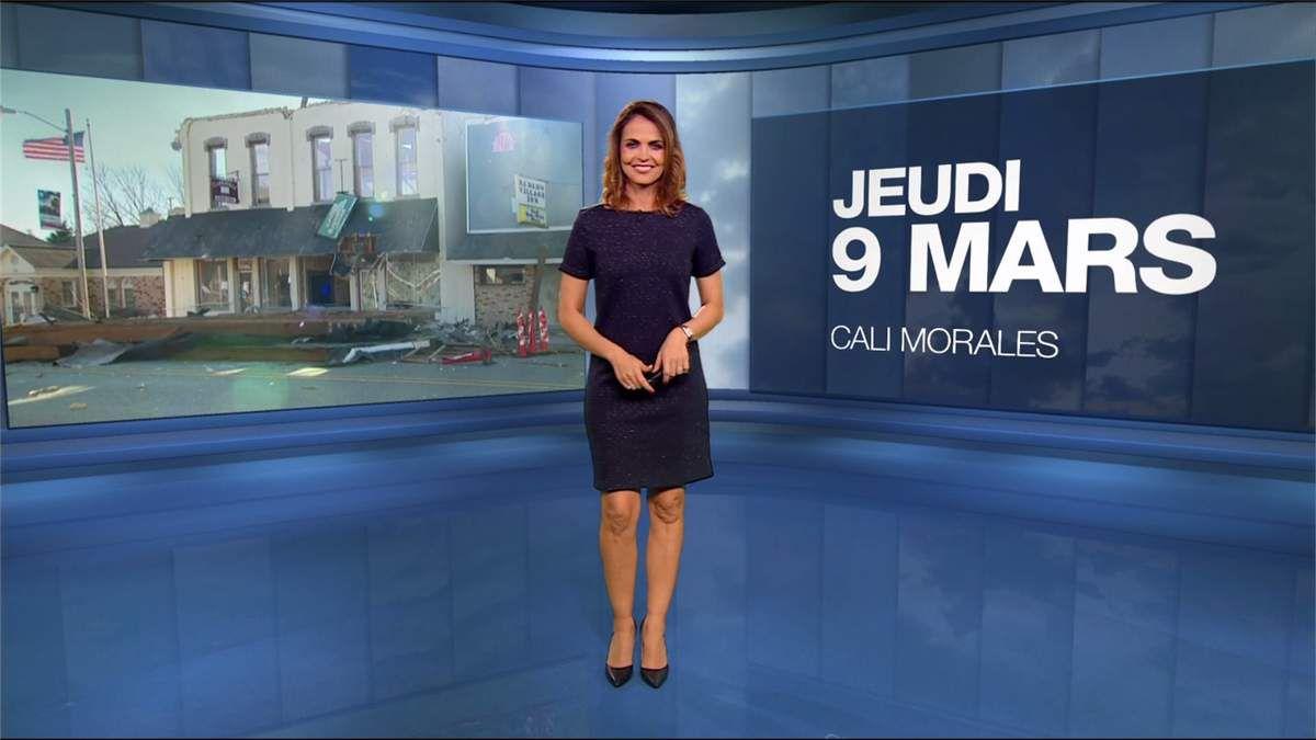 Cali Morales Météo M6 le 09.03.2017