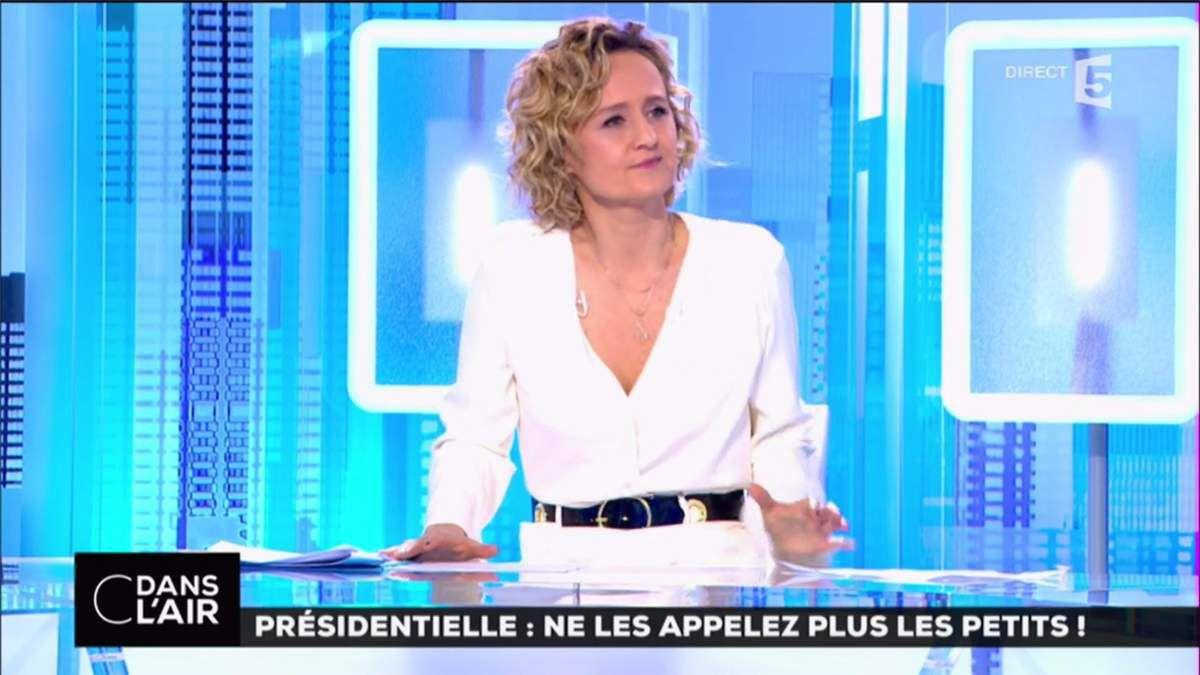 Caroline Roux C Dans l'Air France 5 le 09.03.2017