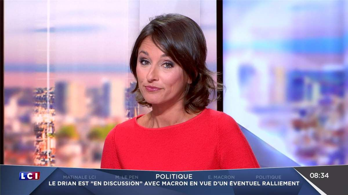 Amandine Bégot LCI Matin LCI le 10.03.2017