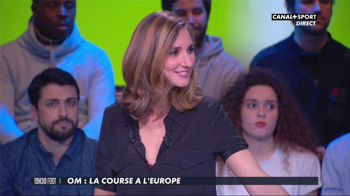 Marie Portolano 19H30 Foot Canal+Sport le 10.03.2017