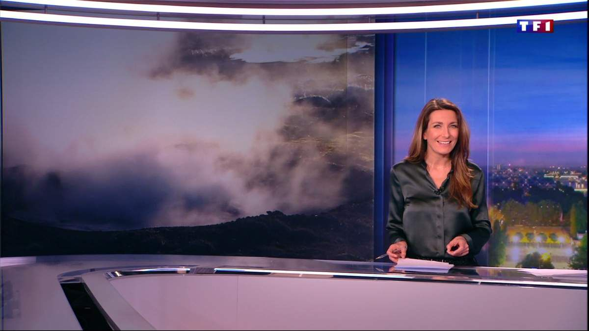 Anne-Claire Coudray JT 20H TF1 le 11.03.2017