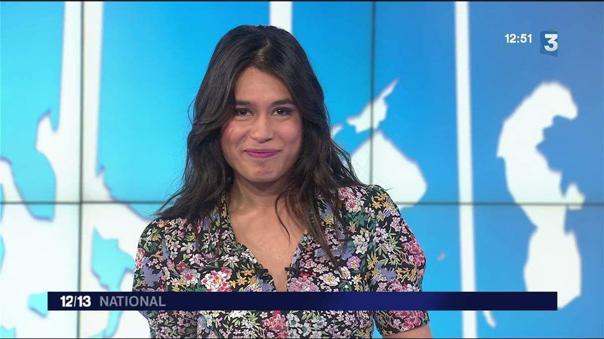 Emilie Tran Nguyen Le 12/13 France 3 le 16.03.2017