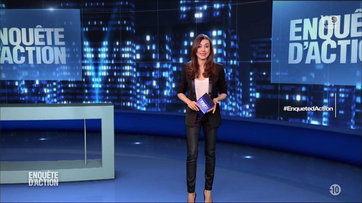 Marie-Ange Casalta Enquête d'Action W9 le 17.03.2017