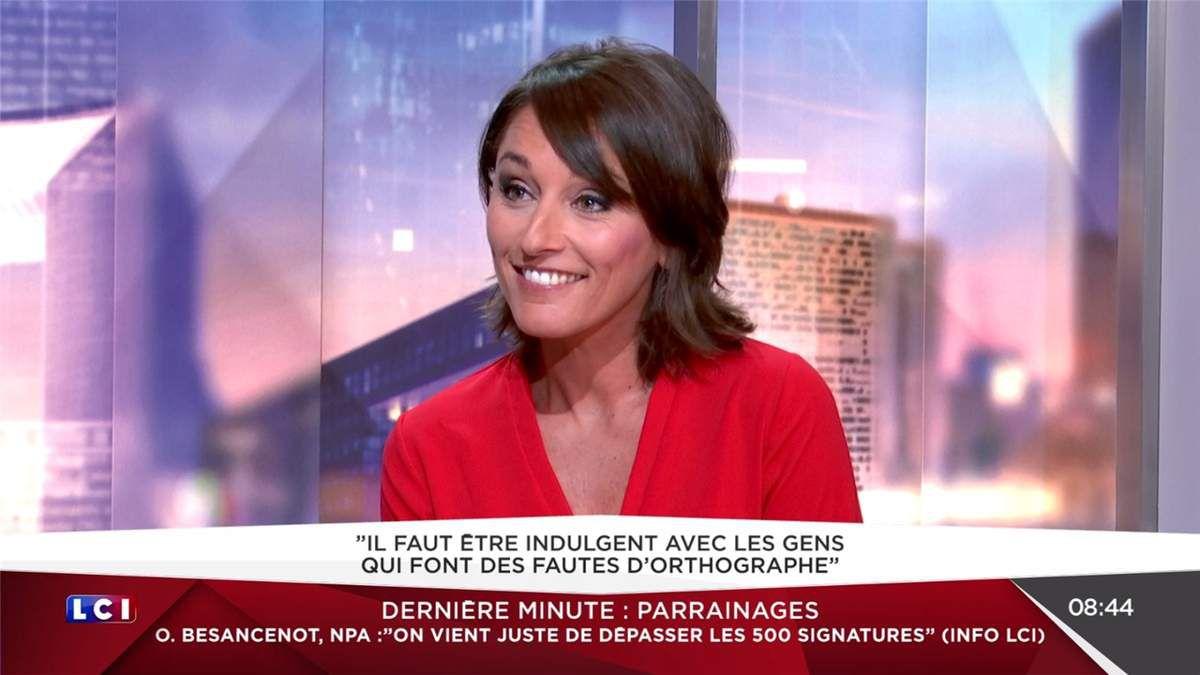 Amandine Bégot LCI Matin LCI le 17.03.2017