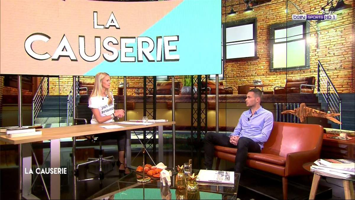 Mariella Tiemann La Causerie beIn Sports le 19.03.2017