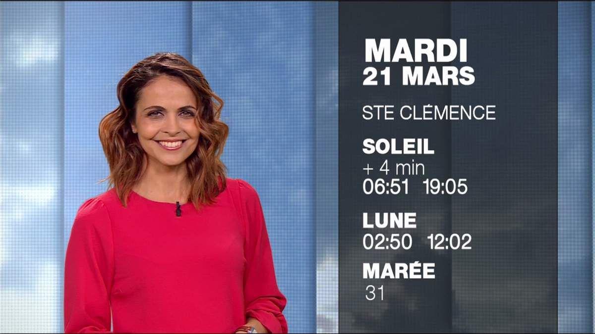 Cali Morales Météo M6 le 20.03.2017