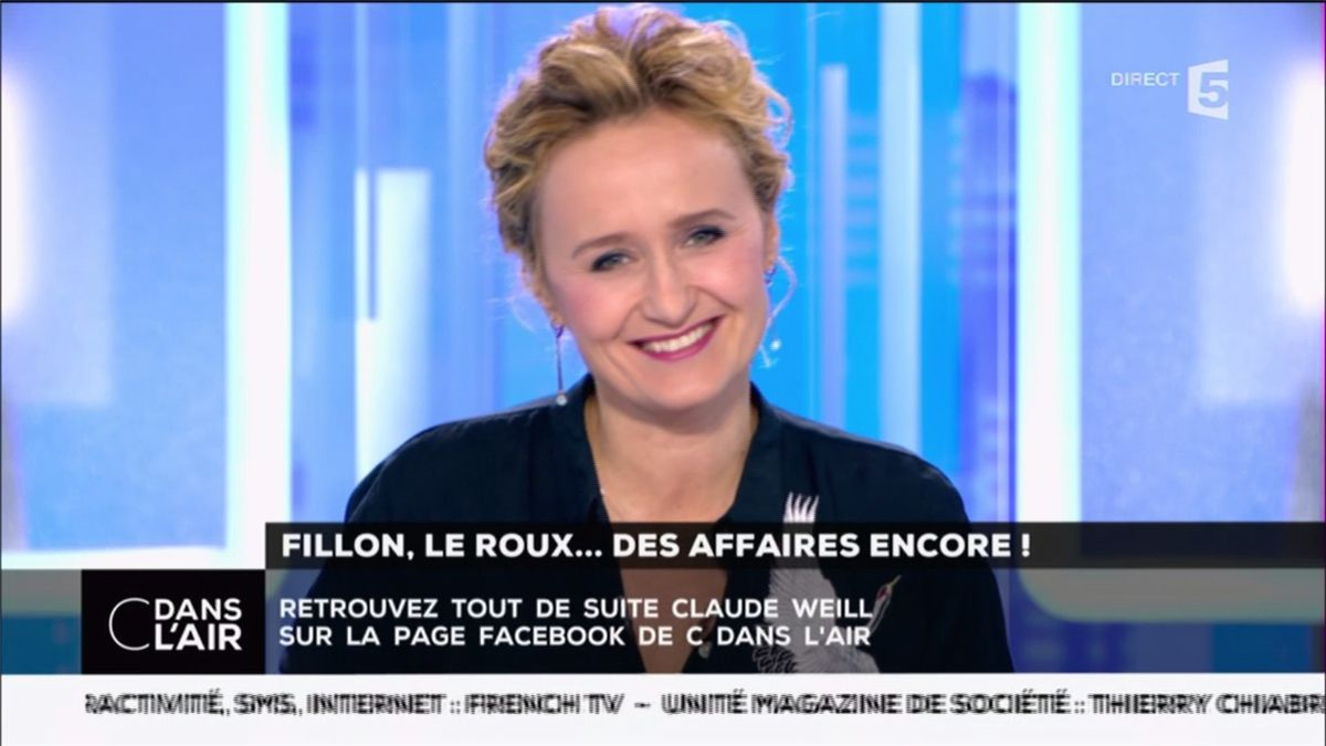 Caroline Roux C Dans l'Air France 5 le 22.03.2017