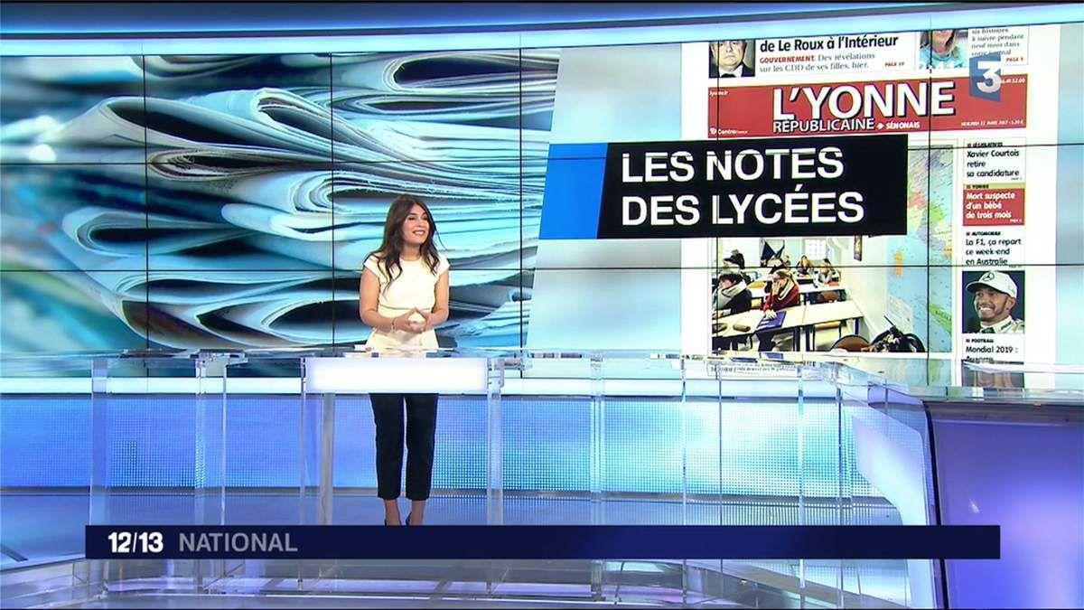 Emilie Tran Nguyen Le 12/13 France 3 le 22.03.2017