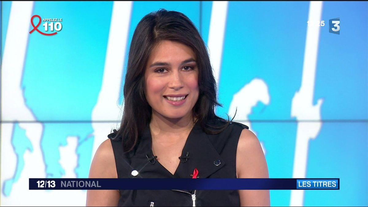 Emilie Tran Nguyen Le 12/13 France 3 le 24.03.2017