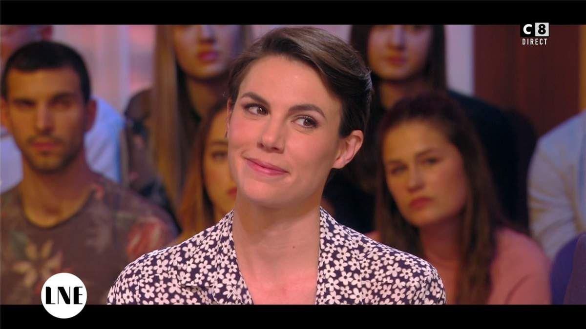 Emilie Besse La Nouvelle Edition C8 le 28.03.2017