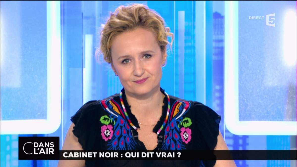 Caroline Roux C Dans l'Air France 5 le 2.03.2017