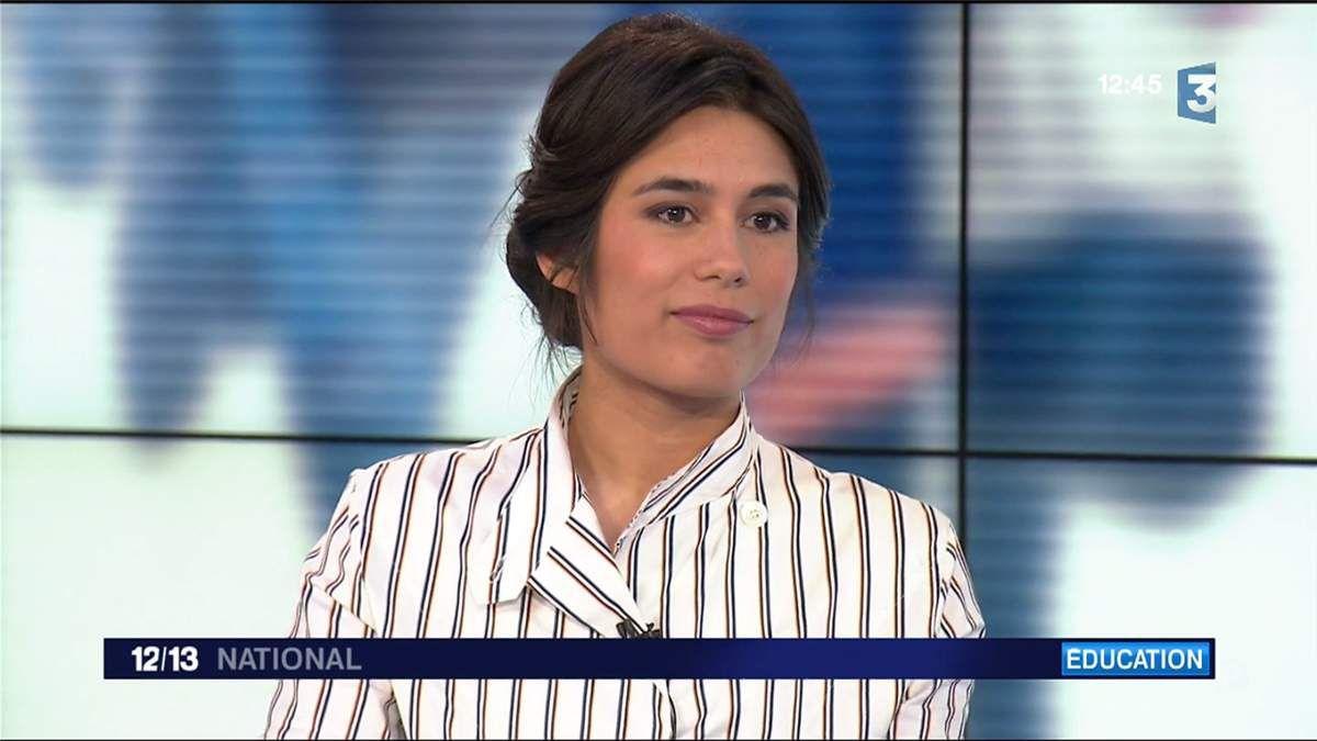 Emilie Tran Nguyen Le 12/13 France 3 le 28.03.2017