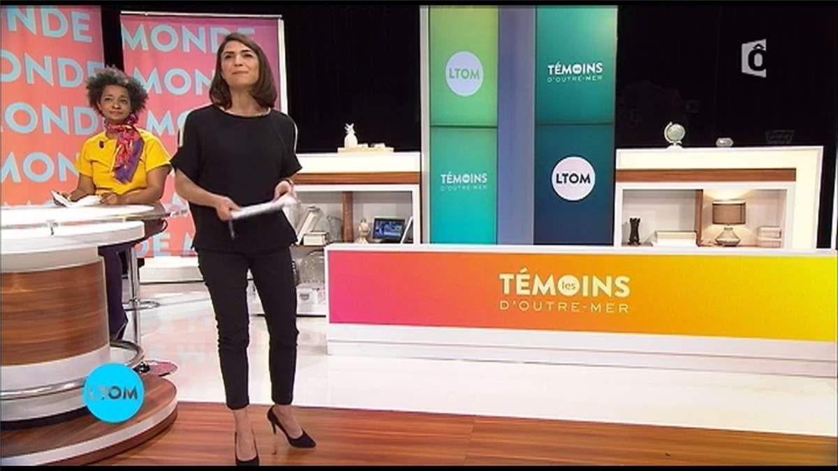 Sonia Chironi Les Témoins d'Outre-Mer France Ô le 29.03.2017