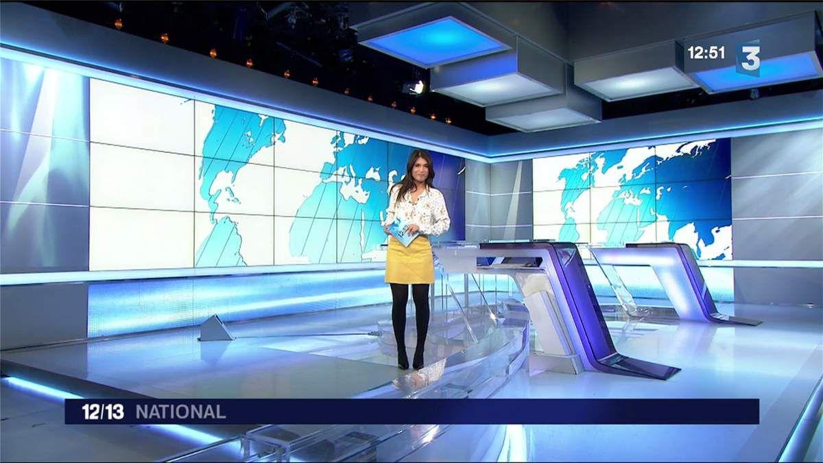 Emilie Tran Nguyen Le 12/13 France 3 le 30.03.2017