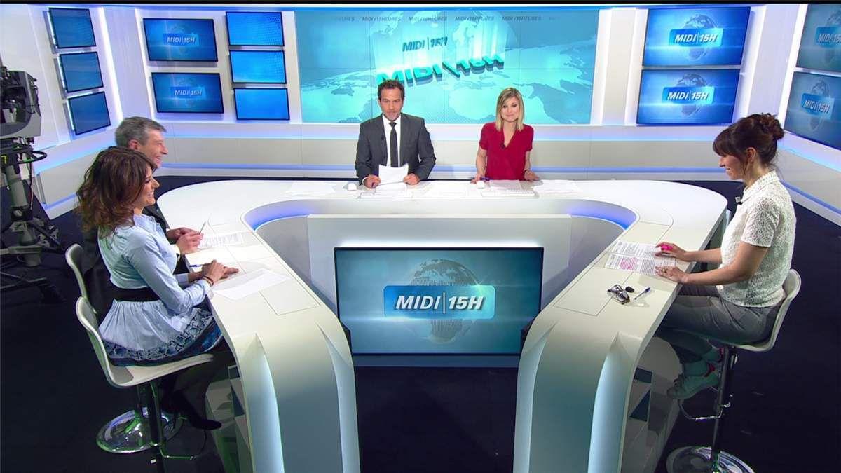 Fanny Agostini Météo BFM TV le 30.03.2017