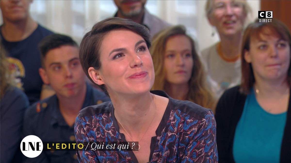 Emilie Besse La Nouvelle Edition C8 le 31.03.2017