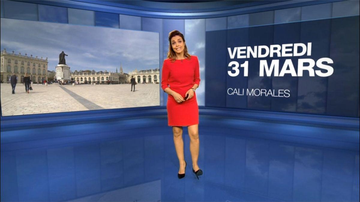 Cali Morales Météo M6 le 31.03.2017