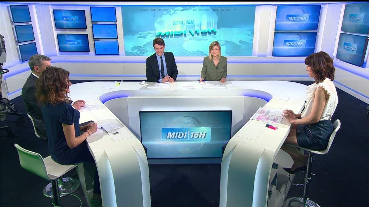 Fanny Agostini Météo BFM TV le 03.04.2017