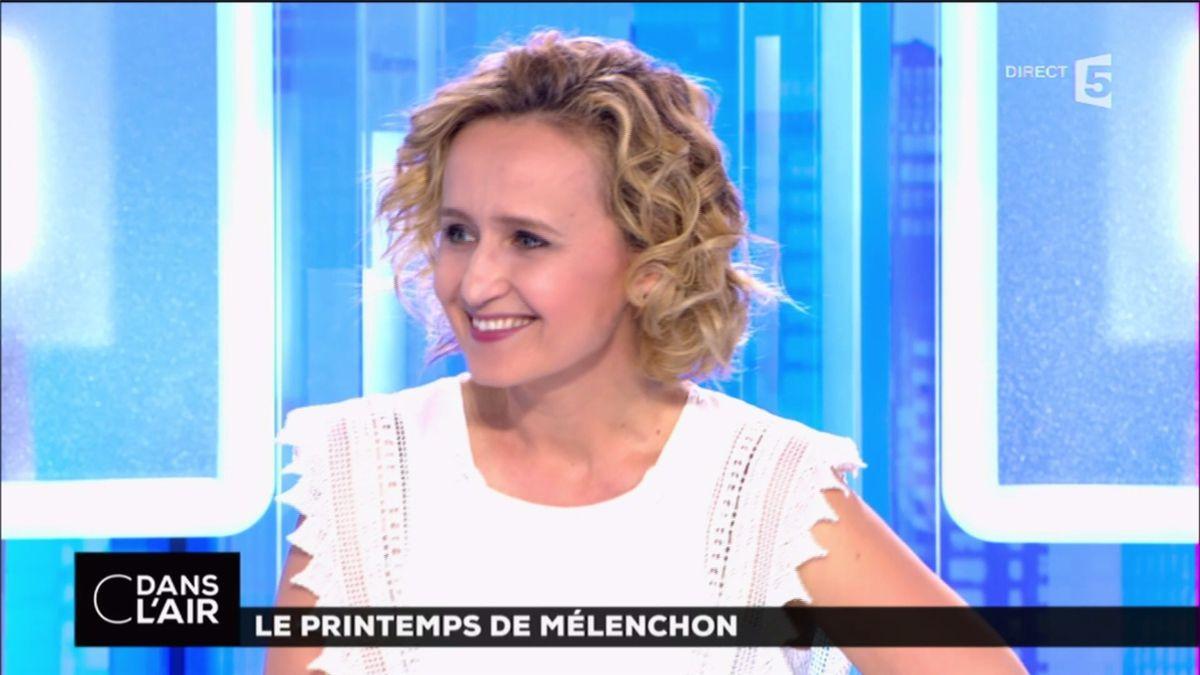 Caroline Roux C Dans l'Air France 5 le 03.04.2017