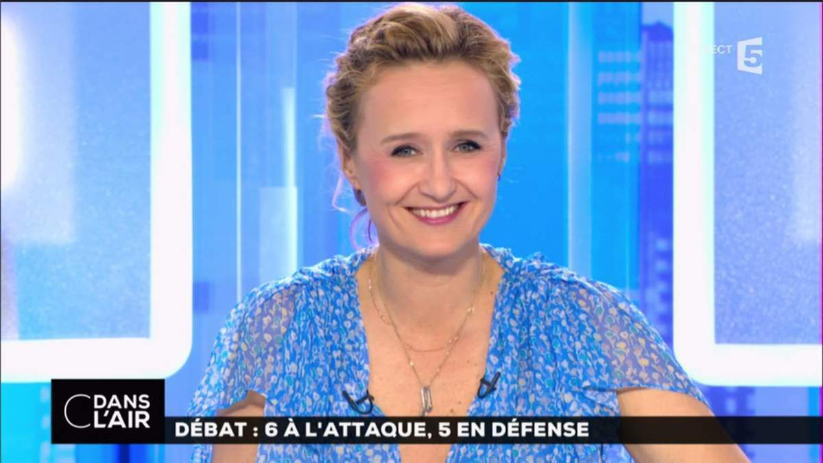 Caroline Roux C Dans l'Air France 5 le 05.04.2017