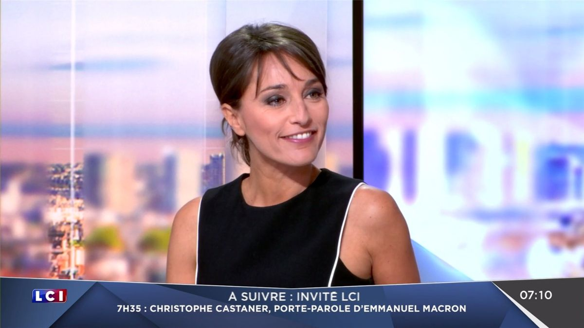 Amandine Bégot LCI Matin LCI le 05.04.2017