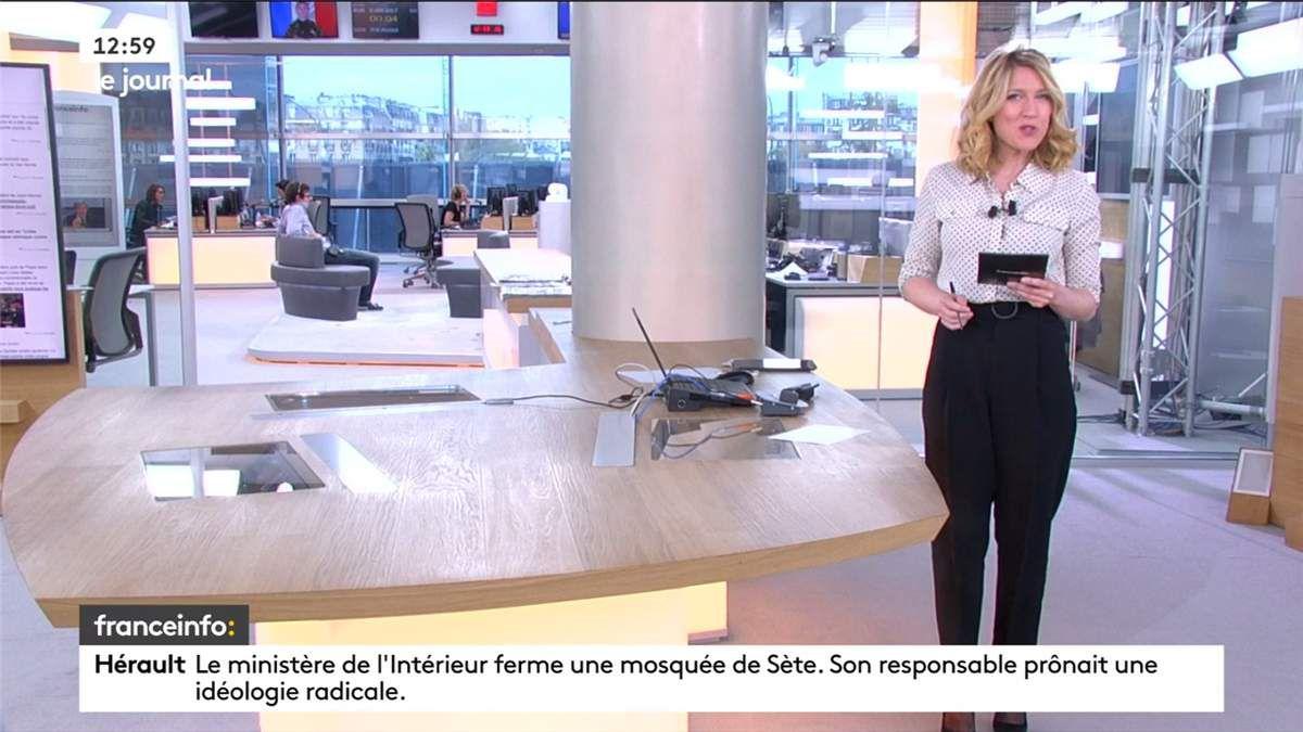 Clémence de la Baume Journal Franceinfo: le 06.04.2017
