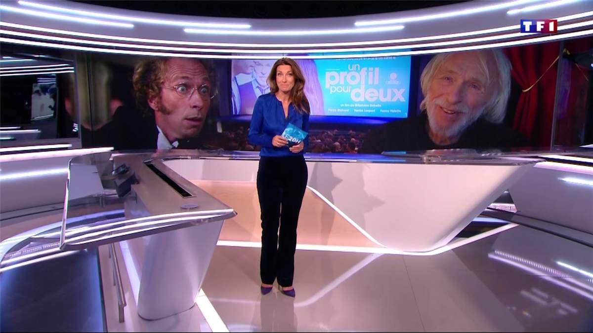 Anne-Claire Coudray JT 20H TF1 le 09.04.2017