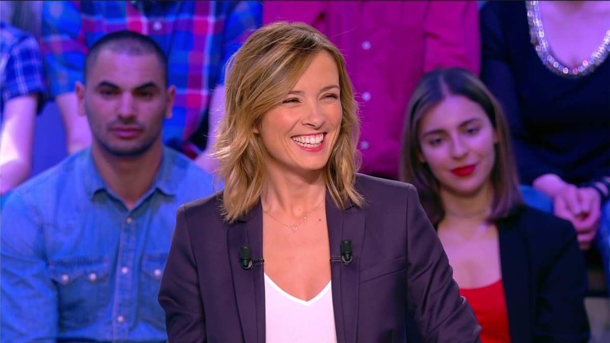 Isabelle Ithurburu Canal Rugby Club Canal+ le 09.04.2017