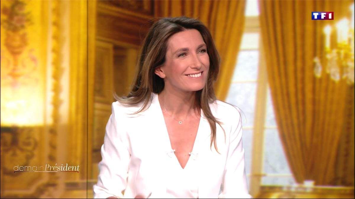Anne-Claire Coudray Demain Président TF1 le 10.04.2017