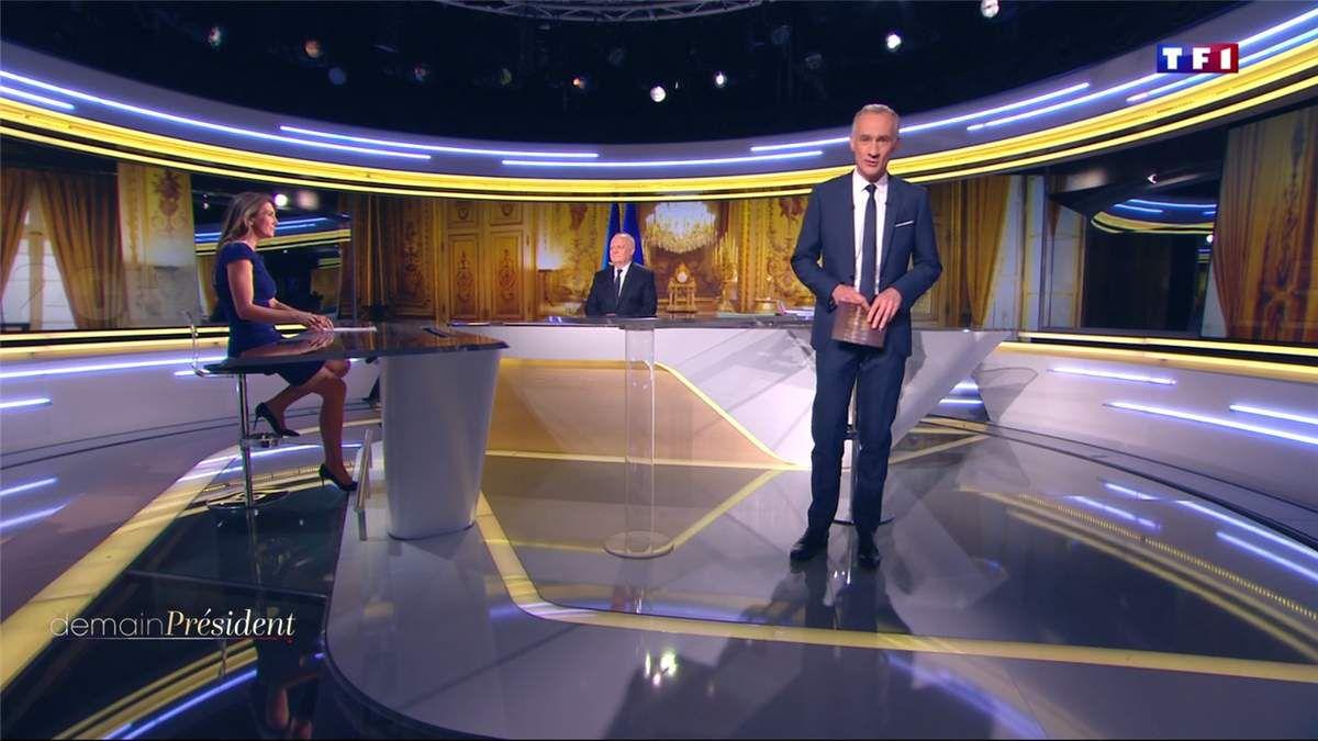 Anne-Claire Coudray Demain Président TF1 le 11.04.2017