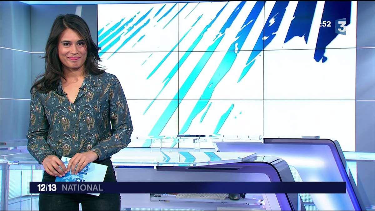 Emilie Tran Nguyen Le 12/13 France 3 le 13.04.2017