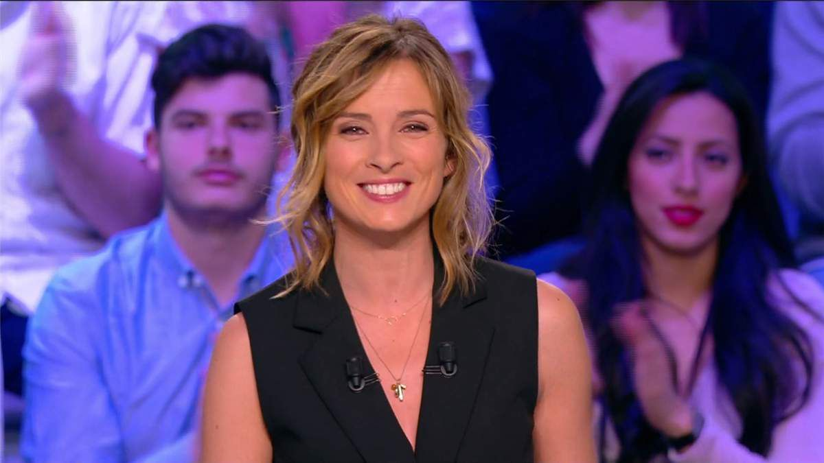 Isabelle Ithurburu Canal Rugby Club Canal+ le 16.04.2017