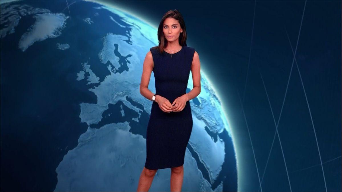 Tatiana Silva Météo TF1 le 17.04.2017