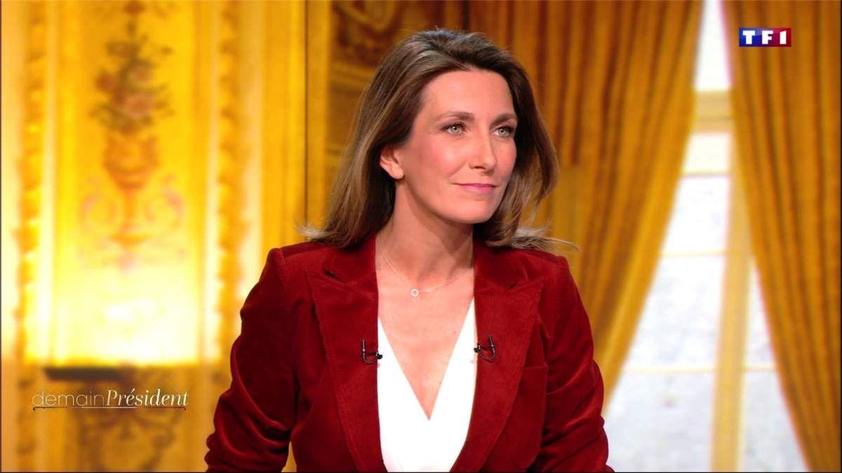 Anne-Claire Coudray Demain Président TF1 le 17.04.2017
