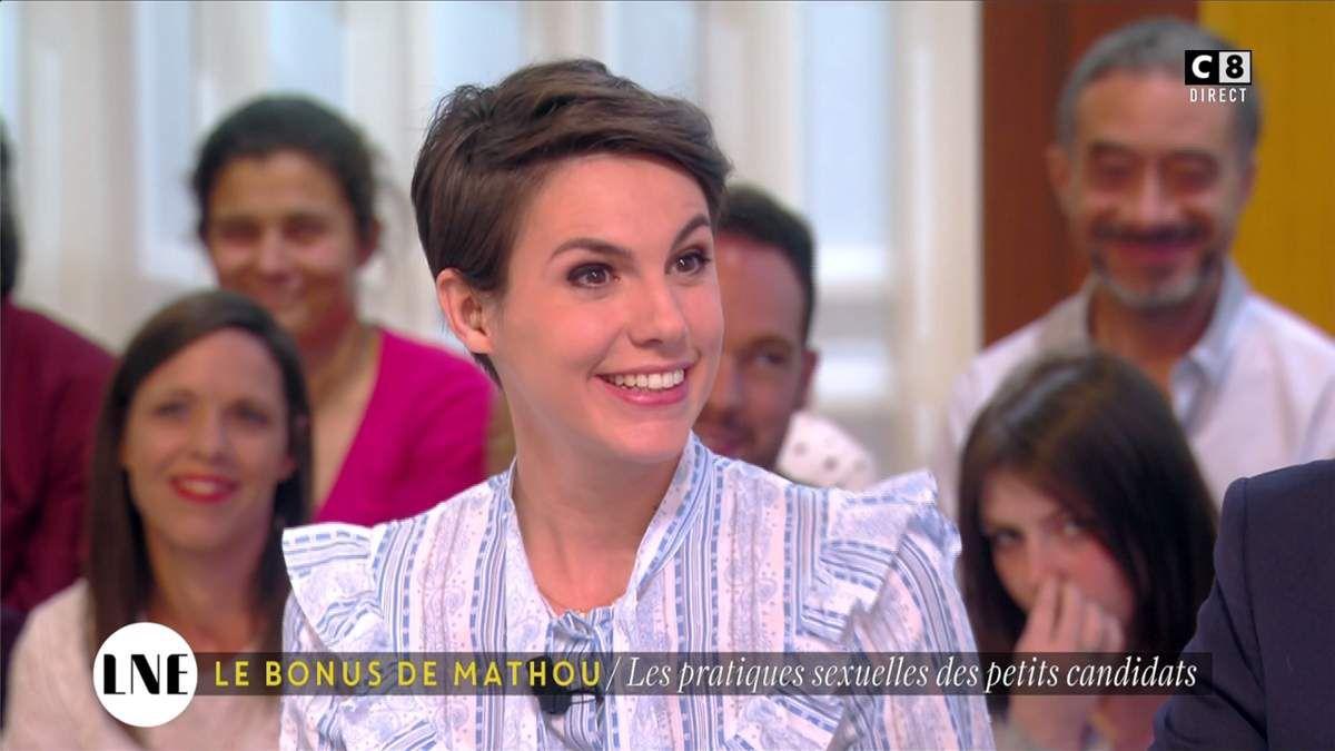 Emilie Besse La Nouvelle Edition C8 le 19.04.2017