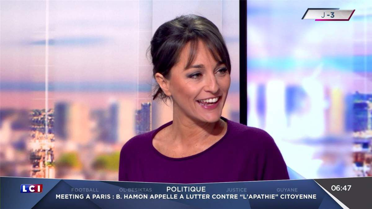 Amandine Bégot LCI Matin LCI le 20.04.2017