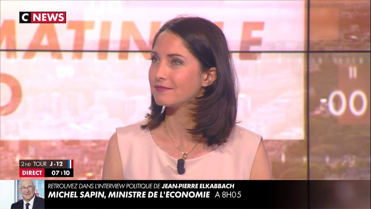 Clélie Mathias La Matinale Info Cnews le 25.04.2017