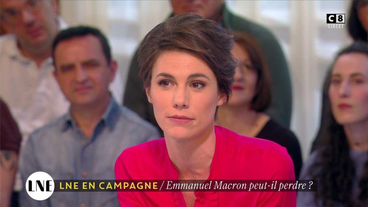 Emilie Besse La Nouvelle Edition C8 le 25.04.2017