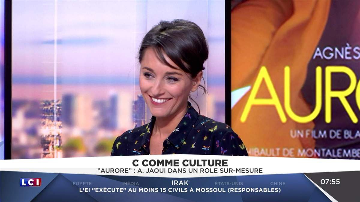 Amandine Bégot LCI Matin LCI le 26.04.2017