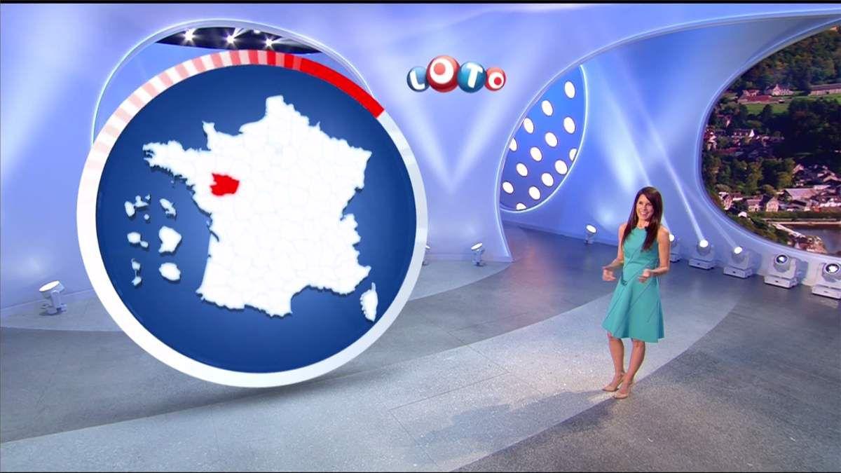 Marion Jollès Grosjean Tirage Loto TF1 le 26.04.2017