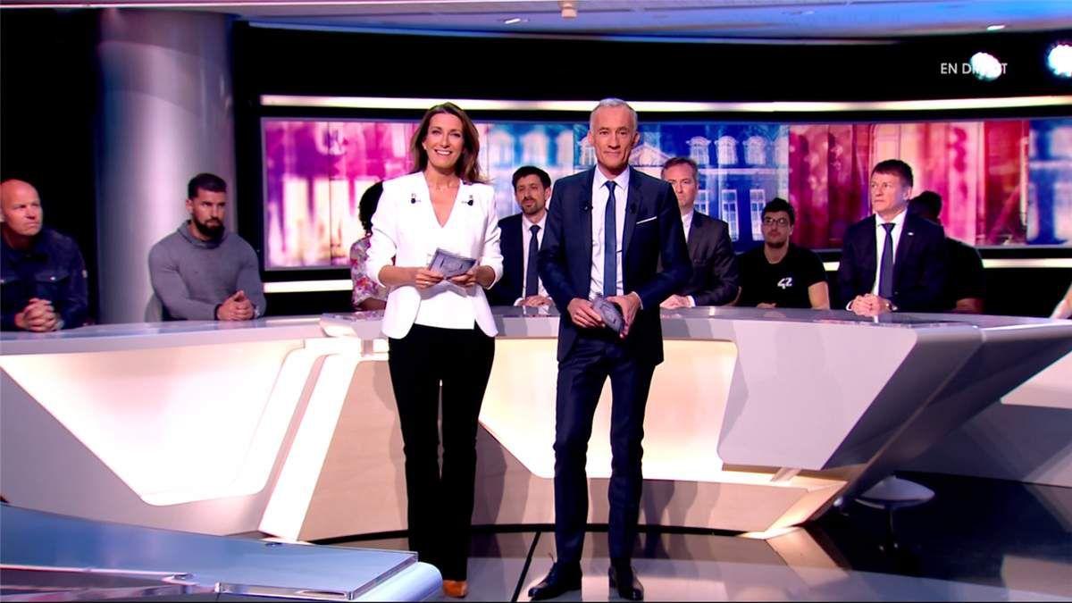 Anne-Claire Coudray Elysée 2017 TF1 le 27.04.2017