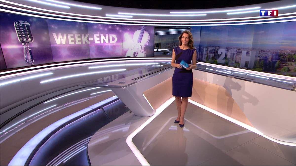 Anne-Claire Coudray JT 20H TF1 le 06.05.2017