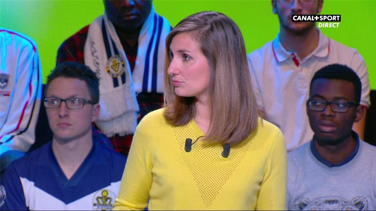 Marie Portolano 19H30 Foot Canal+Sport le 05.05.2017